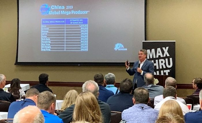 Guest Speaker- Jim Long President-CEO- Genesus Inc.  Speaking about African Swine Fever (ASF) China crisis and its anticipated impact on Global Markets.